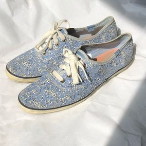 Keds Floral Lace Up Shoes
